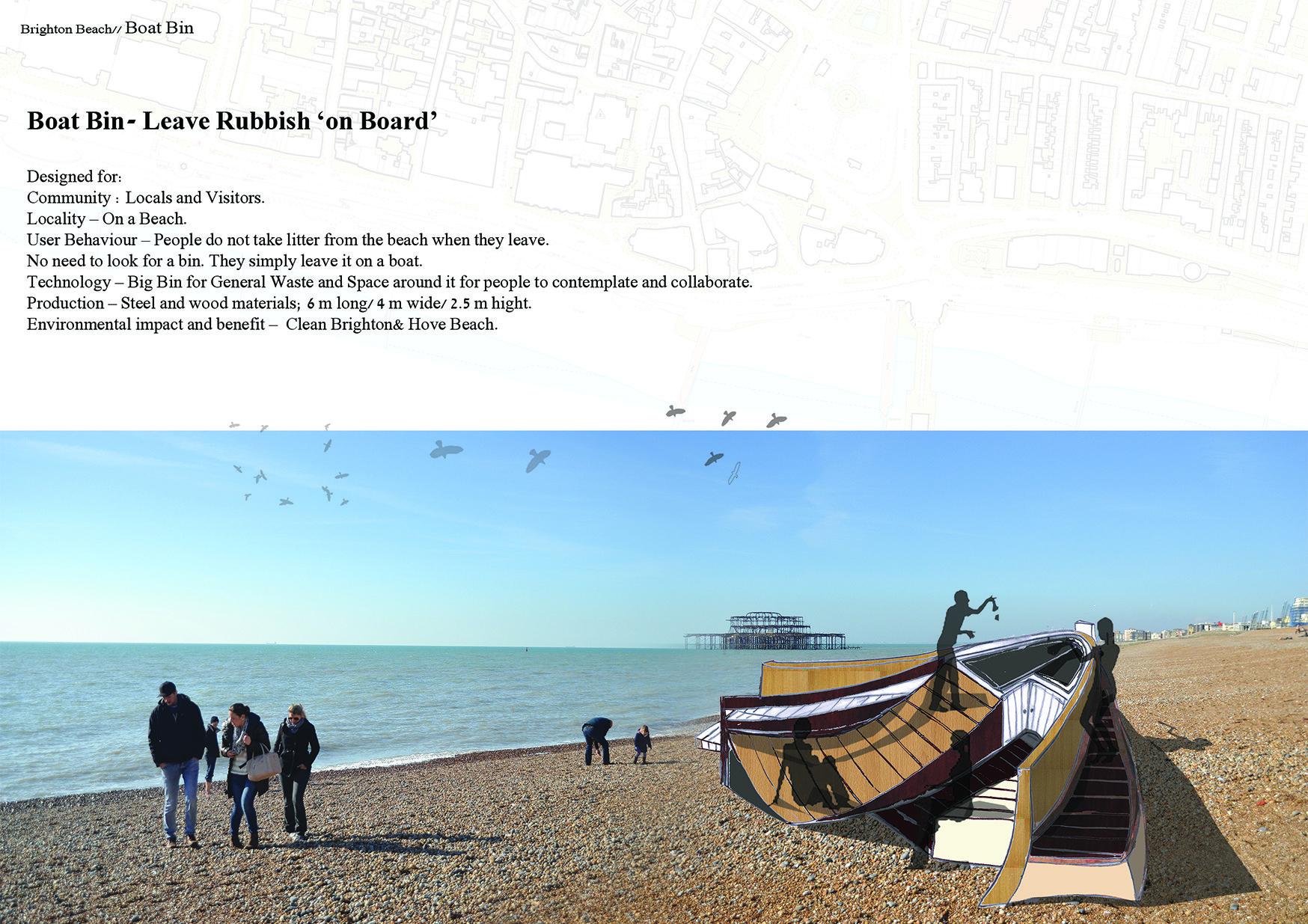 Boat Bin   Brighton