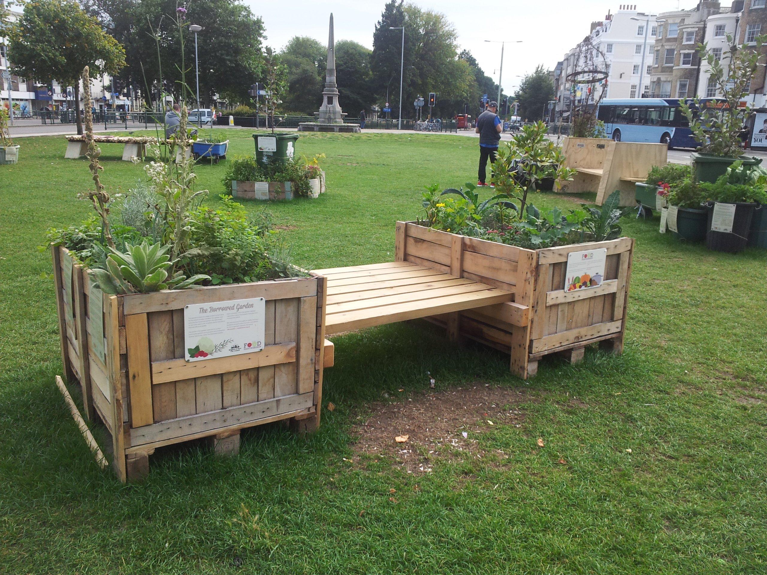Public bench making project Brighton (3)