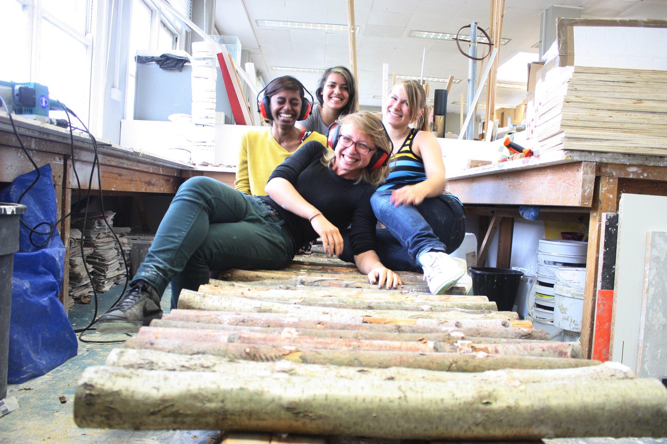 Public bench making project Brighton (4)