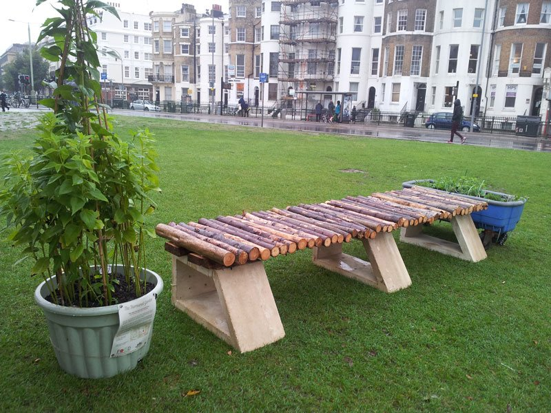 Public bench making project Brighton (6)