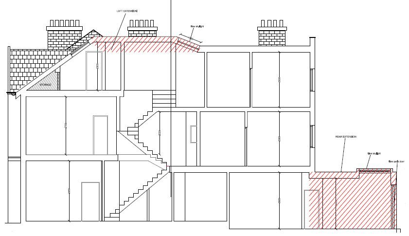 Residential House Extension London (2)