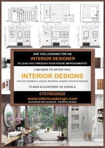 SidorovaDesign_Poster Interior Designer
