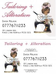 Daiga Business Card2